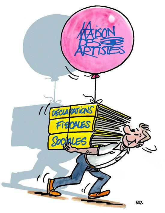 Quelles sont les obligations sociales et fiscales des for Agessa ou maison des artistes