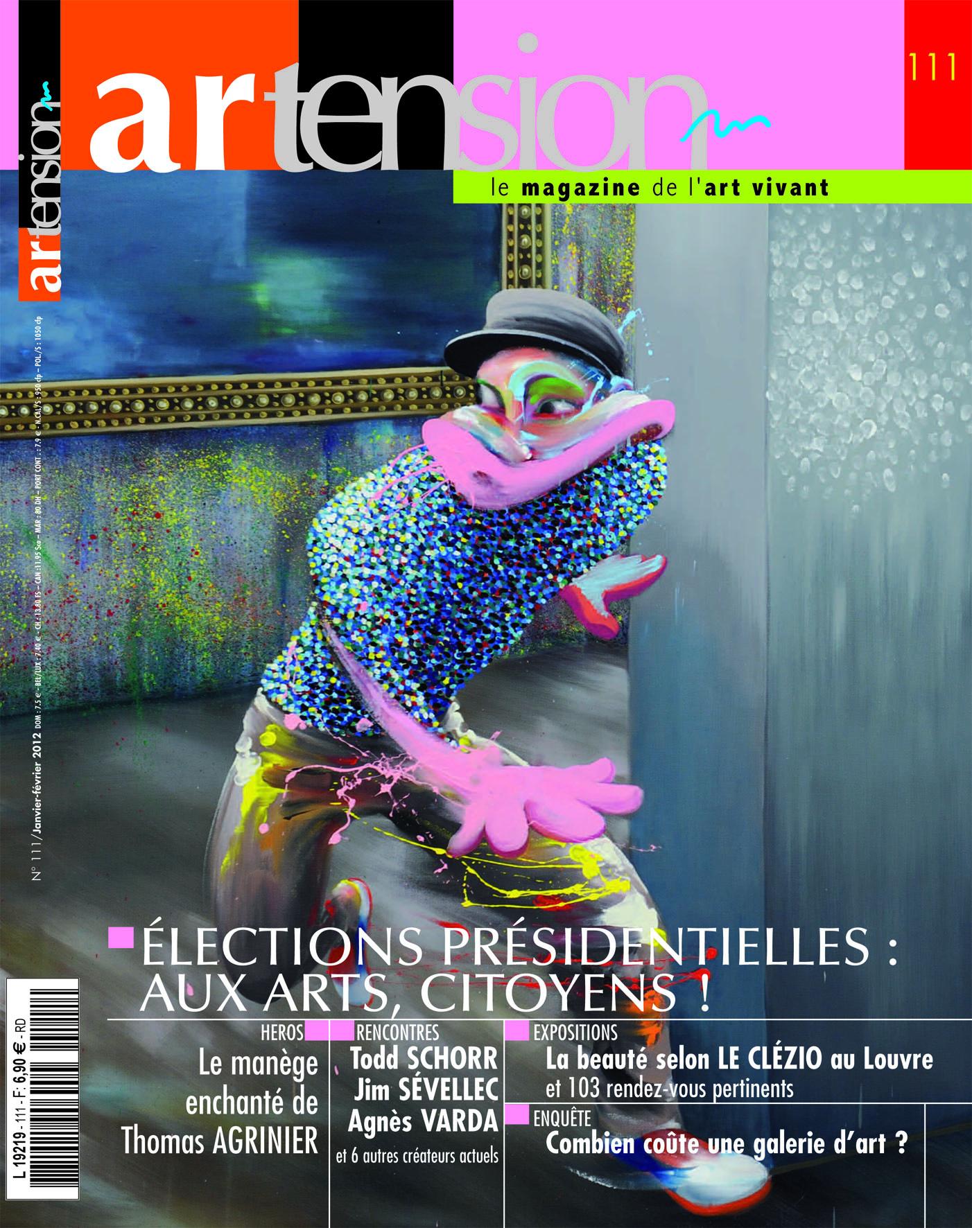 Artension n°111, Janvier-Février 2012