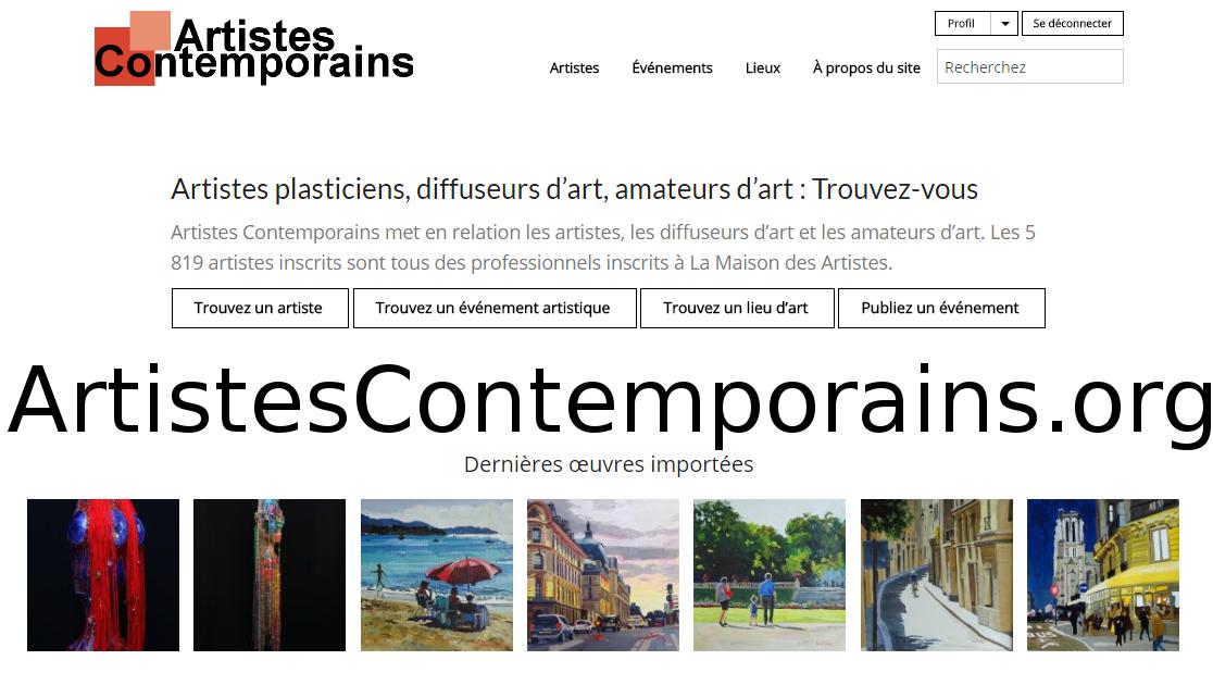 Site de rencontres entre artistes