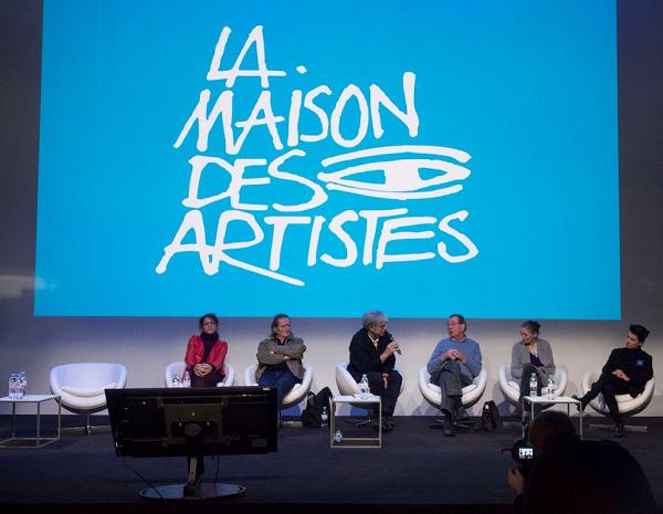 Les nouveaux membres du Bureau, de gauche à droite : Nacera Kaïnou, Alain Lovato, Rémy Aron, François De Verdière, Catherine Lamacque et Lydie Van Den Bussche.