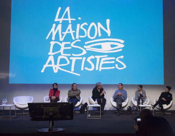 Le nouveau Bureau de La Maison des Artistes – Assemblée Générale du 2 Décembre 2016. Crédit photo Cécile Brousté