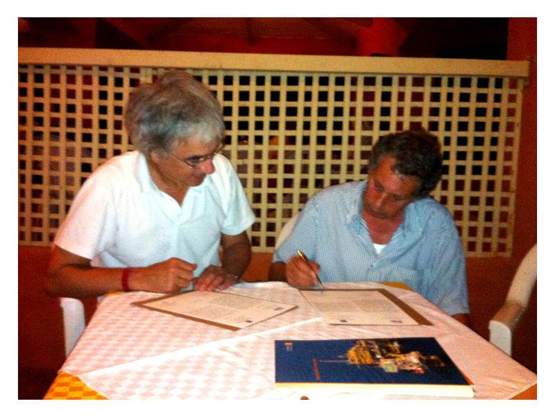 Rémy Aron et Mongi Maatoug