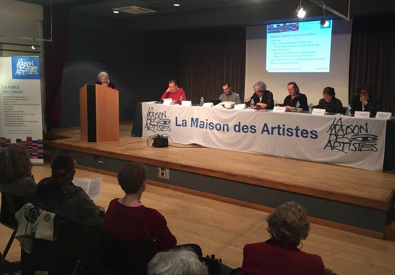 Charges maison des artistes ventana blog for Agessa maison des artistes