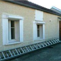 Vends maison de village avec atelier attenant, habitable de suite, dans l'Yonne.