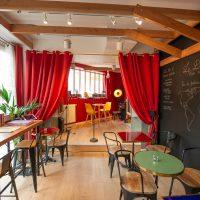 Exposition au Danube Palace Café