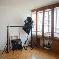 Location poste de travail dans atelier de 18m2 (studio photo)
