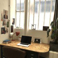 Pièce pour 2 personnes - 11m2 meublé - dans atelier partagé (kitchenette,WC, jardin) - PÈRE LACHAISE