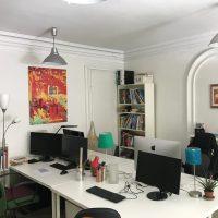 Mise à disposition d'un poste de travail dans bureau partagé sympa